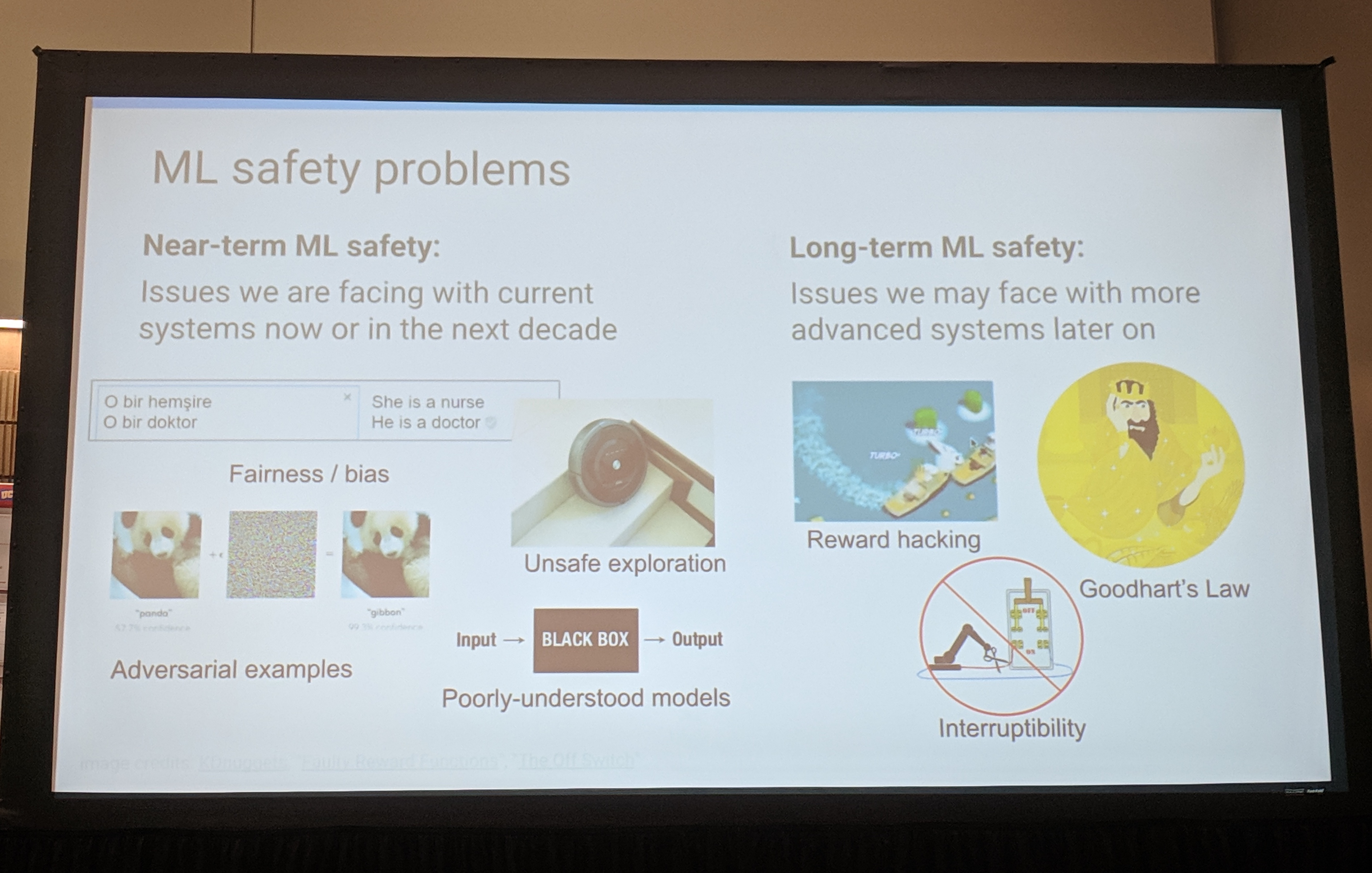 ml safety issues